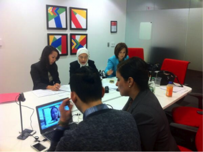 WHIAAPI hosts its second Google+ Hangout in Vietnamese on the Health Insurance Marketplace, Nov. 6, 2013