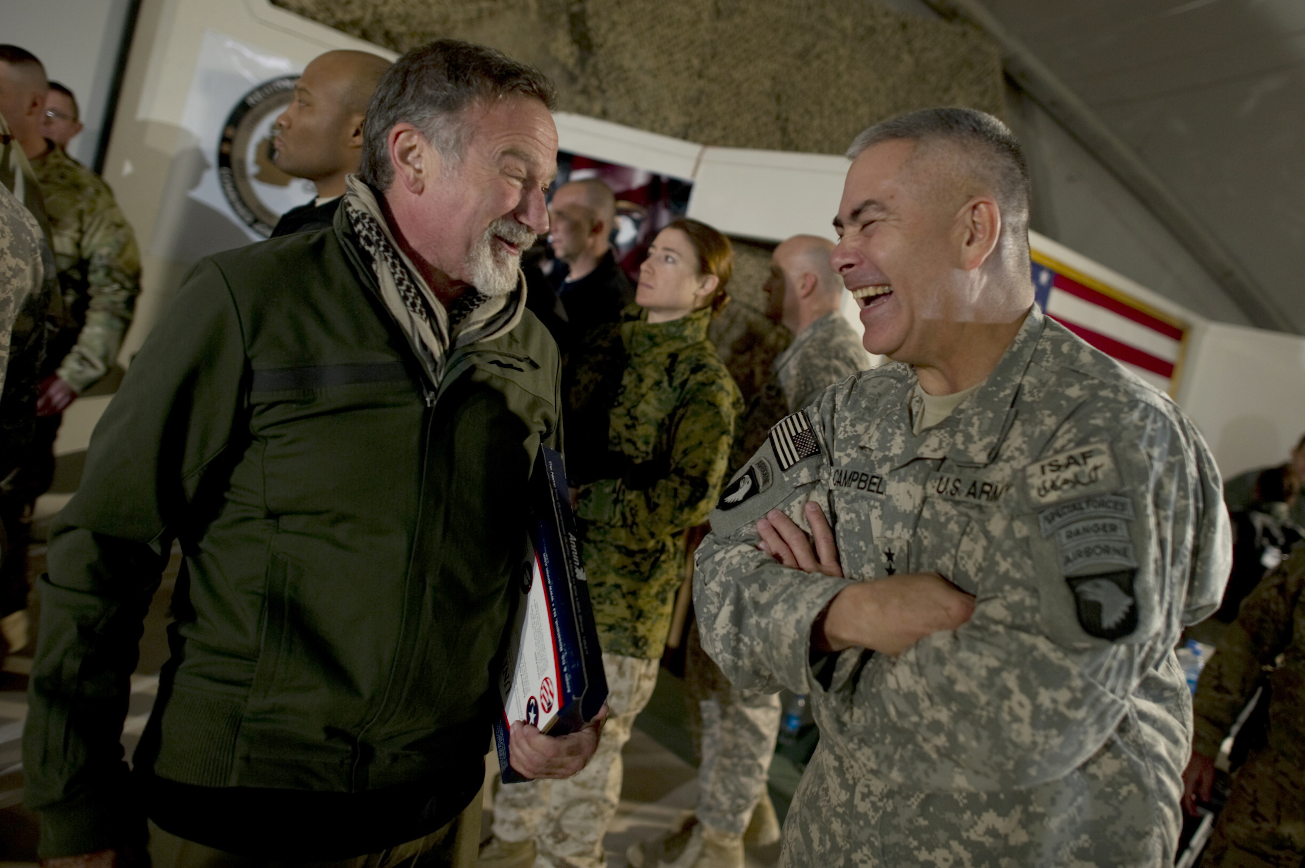 Robin Williams in Afghanistan
