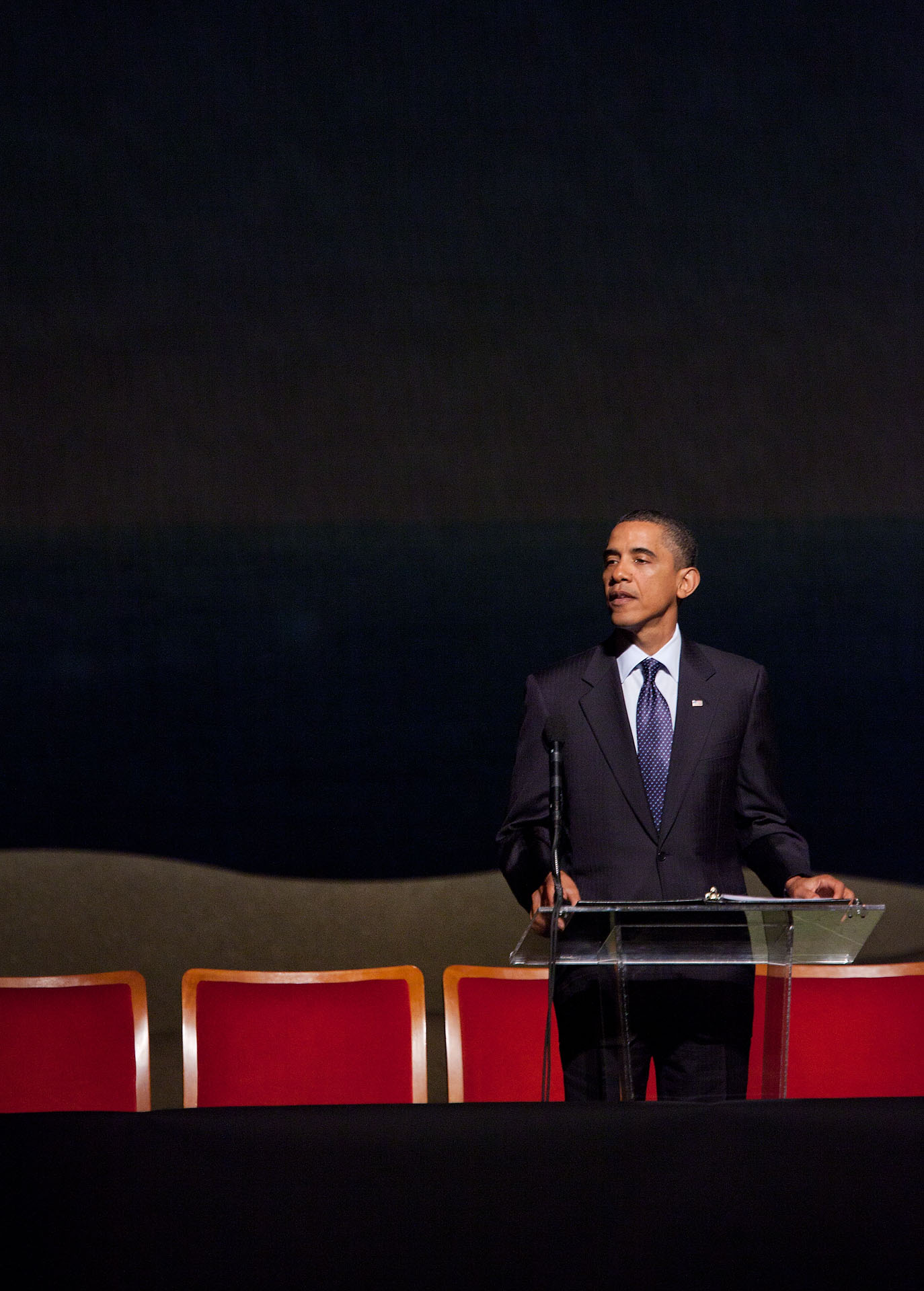 President Obama Speaks at Richard Holbrooke's Memorial