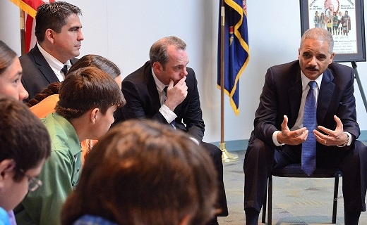 Attorney General Eric Holder Hosts a My Brother's Keeper Discussion