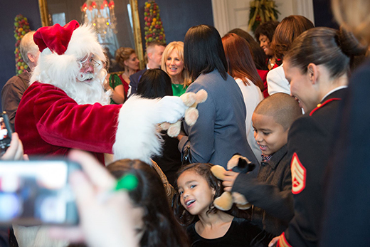 Santa Claus at the Naval Observatory Residence