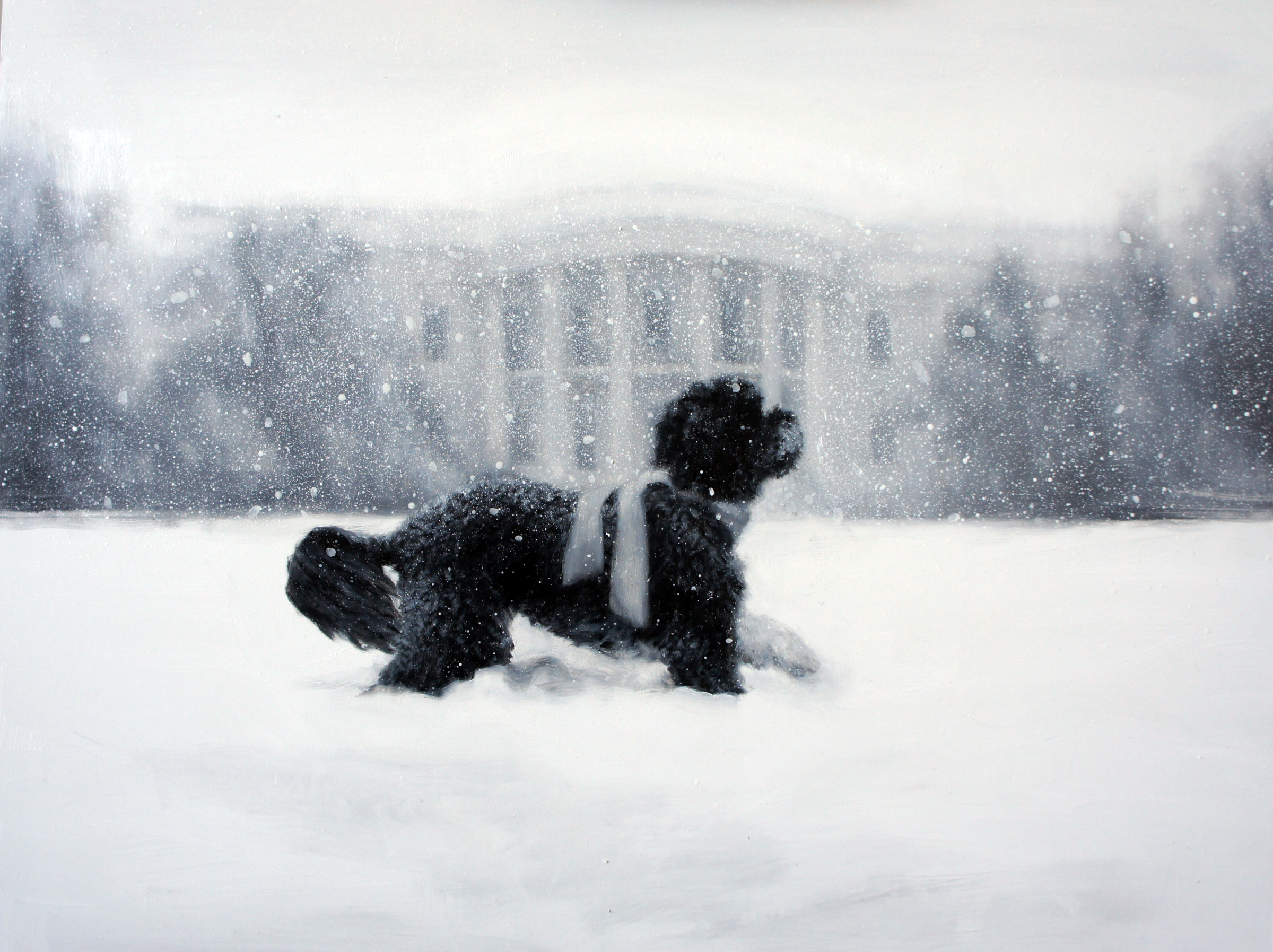 The 2012 White House Holiday Card | whitehouse.gov