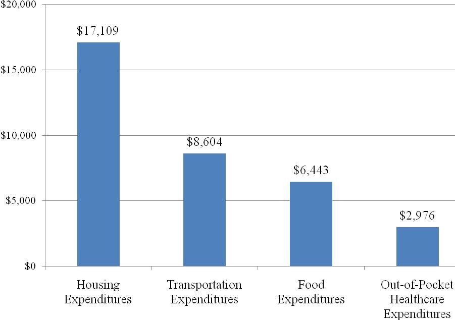 Average Household Expenditures, 2008
