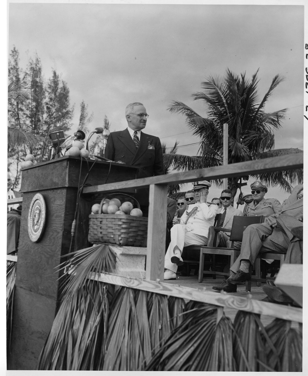 President Truman in the Everglades