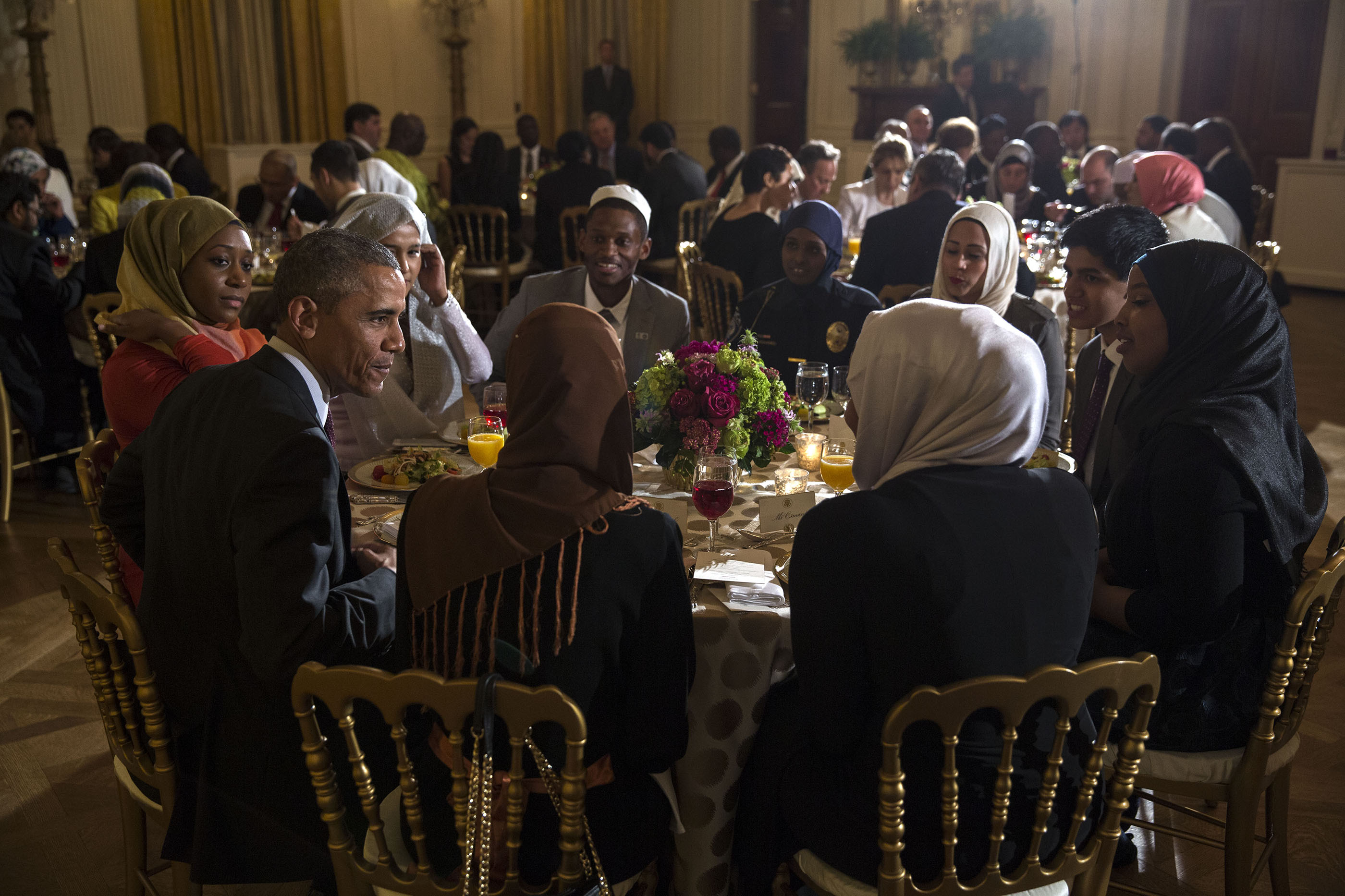 President Obama Hosts a Ramadan Iftar Dinner at the White House ...