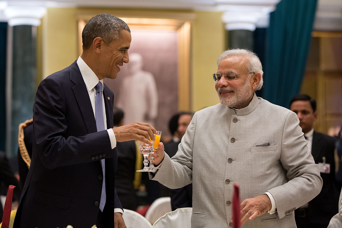 President Obama and Prime Minister Modi Toast at India Dinner Reception