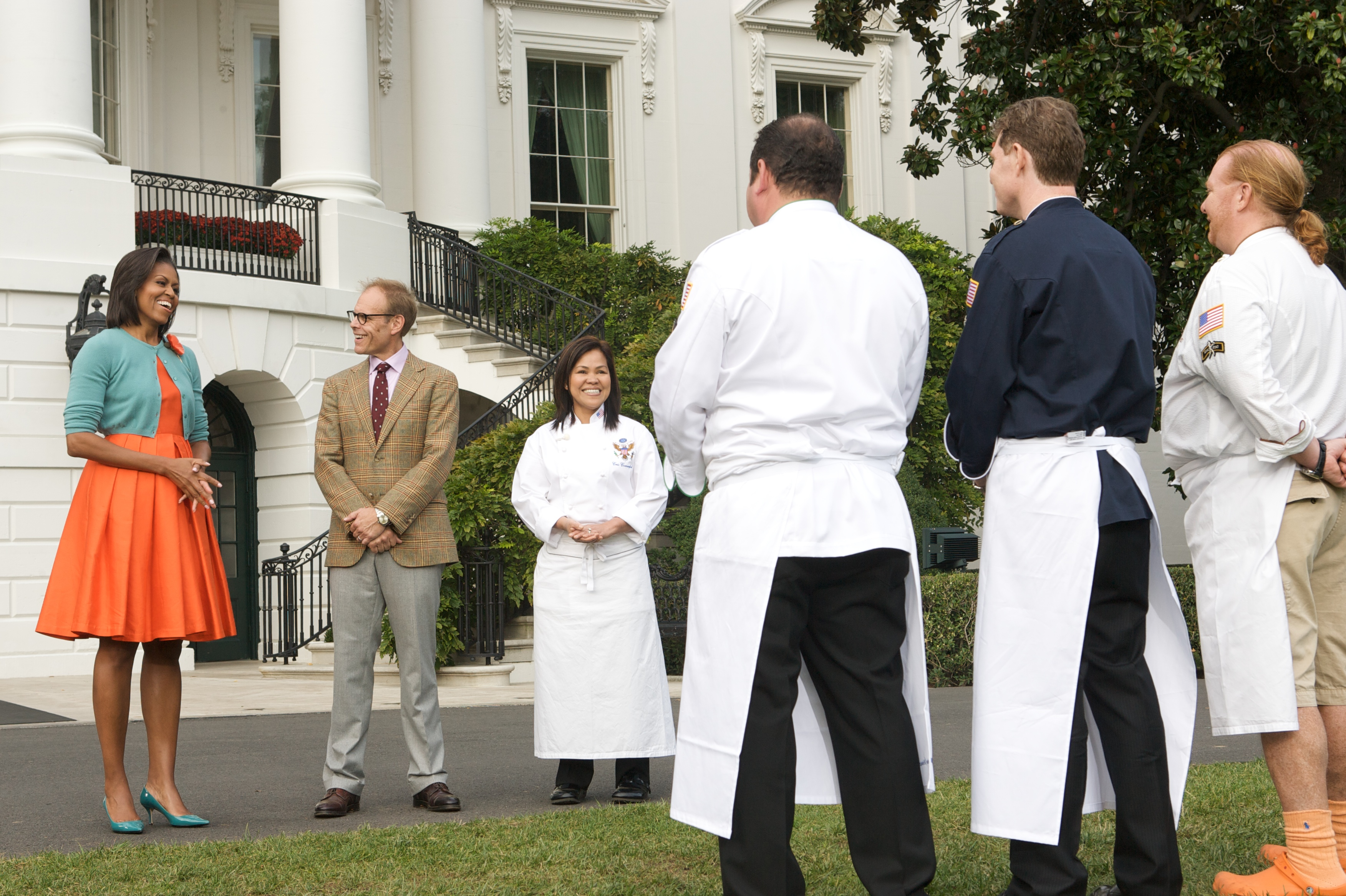 Iron Chef at the White House