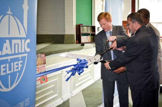IRUSA Ribbon Cutting with Max Finberg