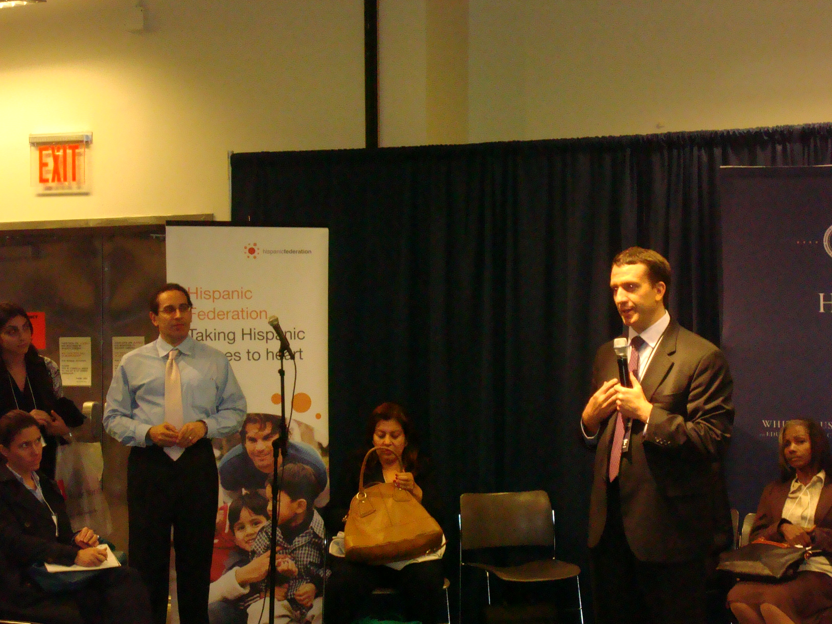 Jon Carson Speaks At White House Hispanic Community Action Summit in New York City