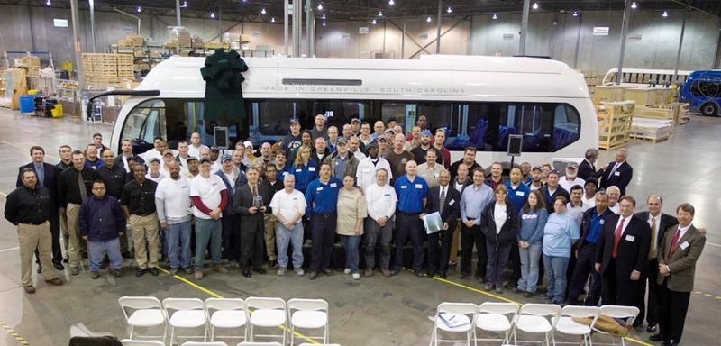 Employees at Proterra, Inc.