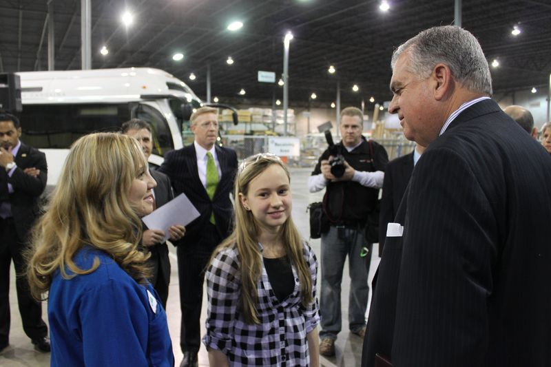 Secretary LaHood at Proterra
