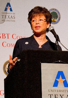 Valerie Jarrett at the White House LGBT Conference on Safe Schools and Communities