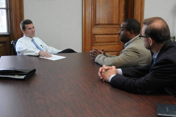 Meeting with Mayor Dean of Tuscaloosa