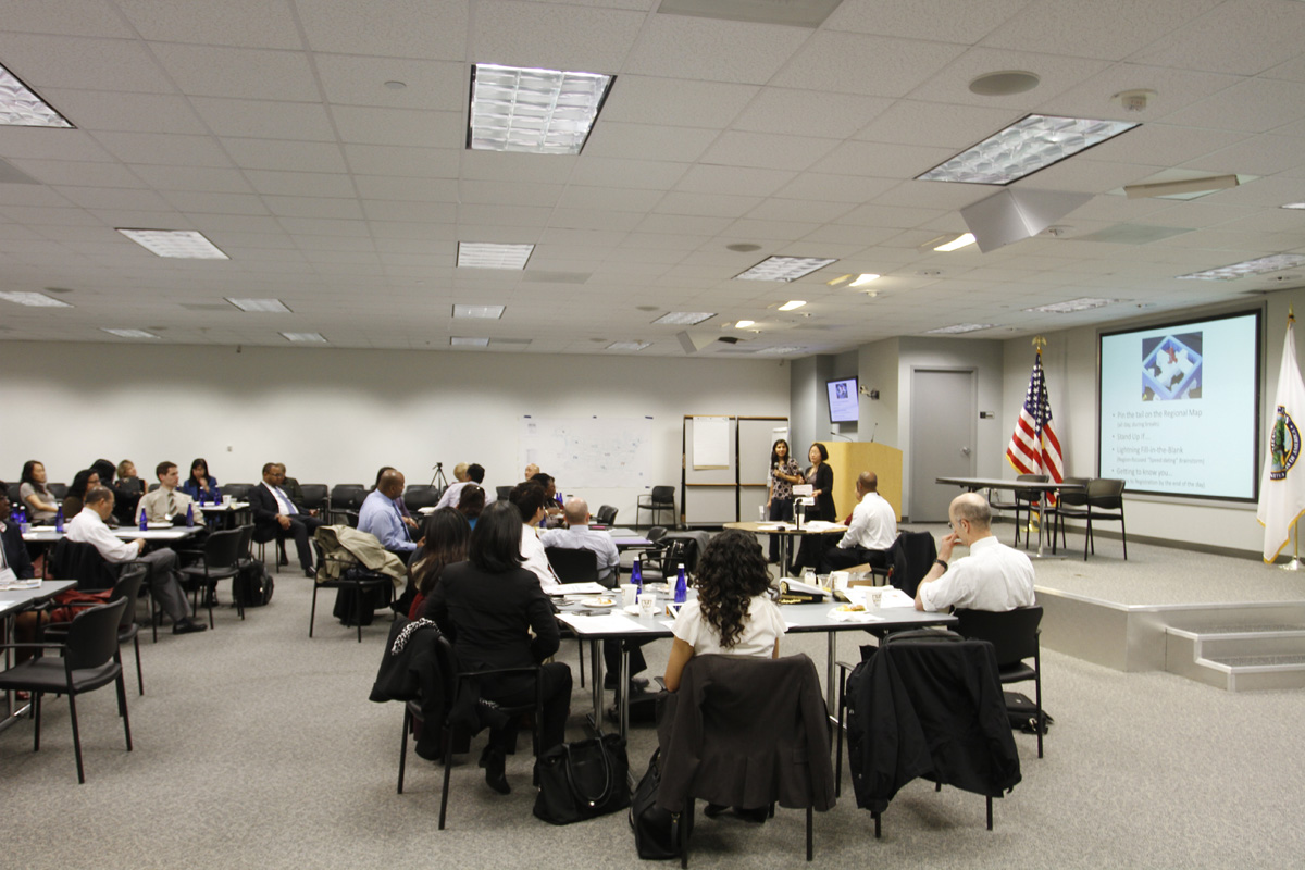 Members of the White House Initiative on AAPIs Regional Interagency Working Group.  December 4, 2013. (Photo courtesy of Paul Chang)