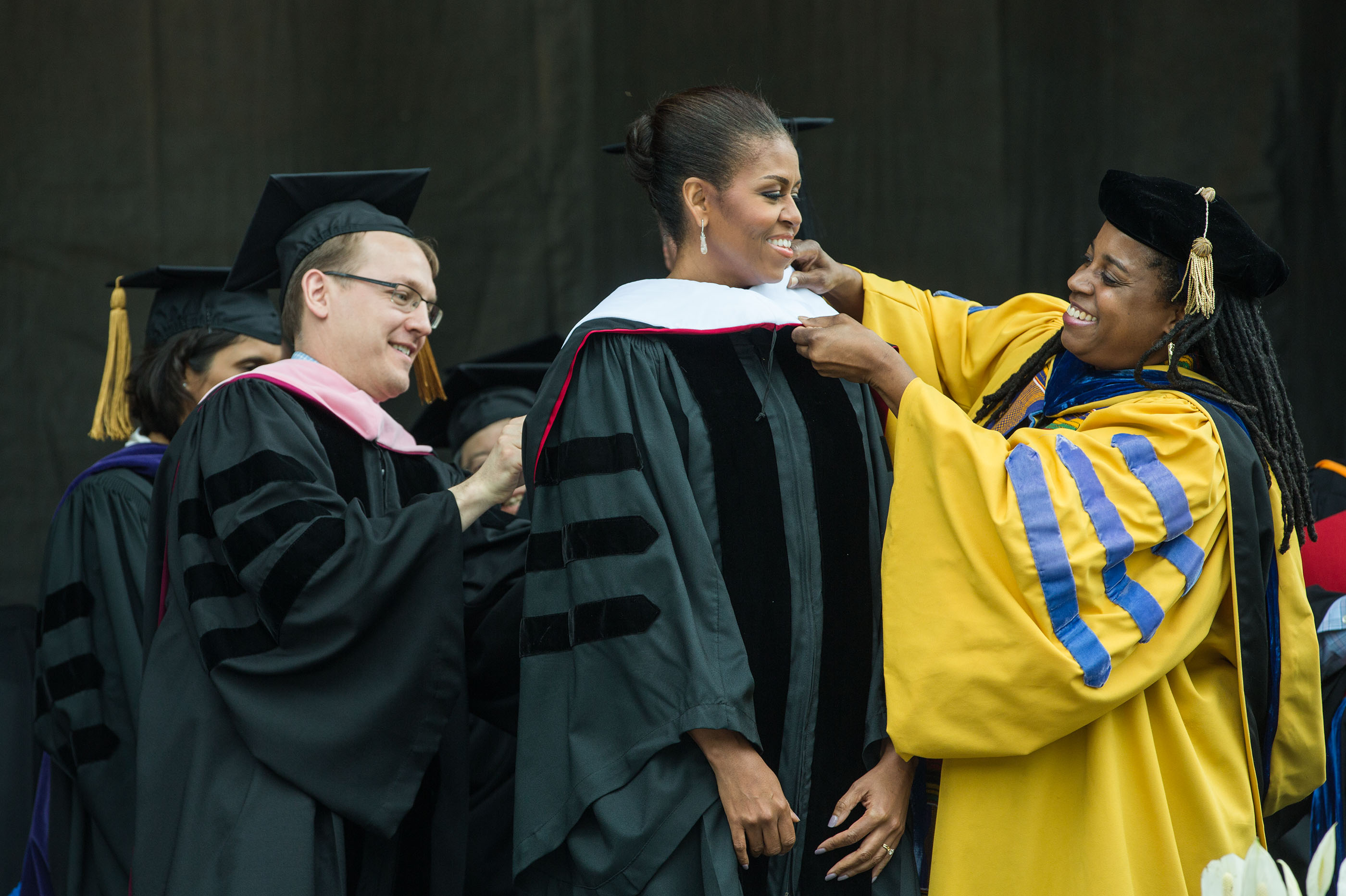 First Lady Michelle Obama at Oberlin College