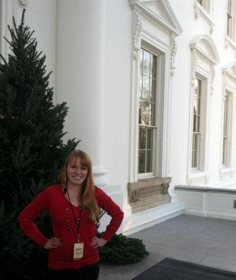 Michelle Vaughn Is A Blue Star Family Volunteer Who Decorated The White House For 2017 Holidays