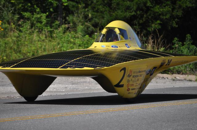 Solar Challenge - First Place