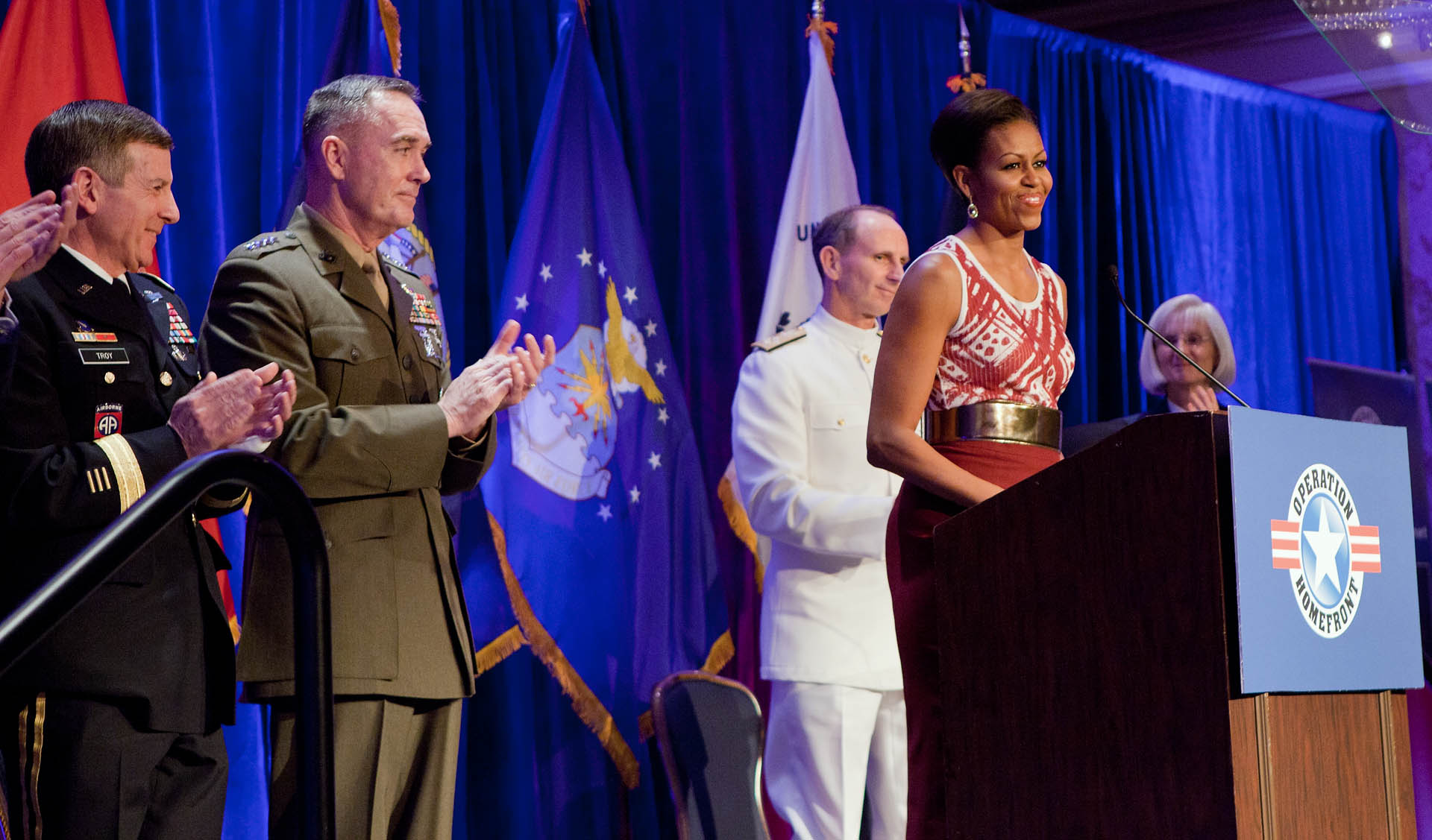 First Lady at the Military Child of the Year Award Ceremony