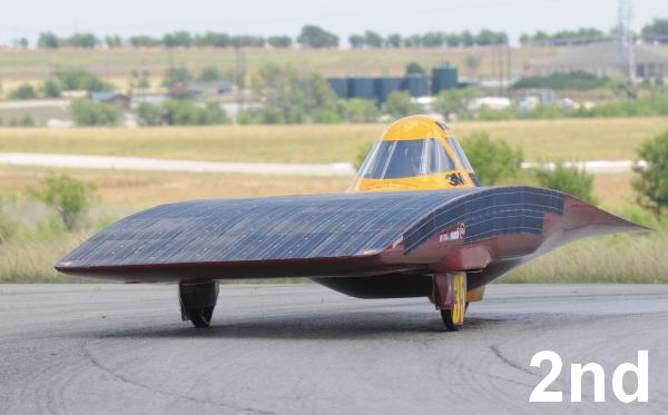 Solar Challenge - Second Place