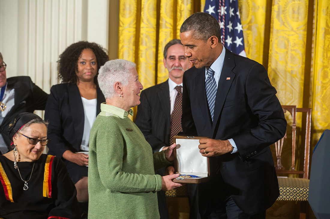 President Obama awards the Medal of Freedom to Civil Rights Activists