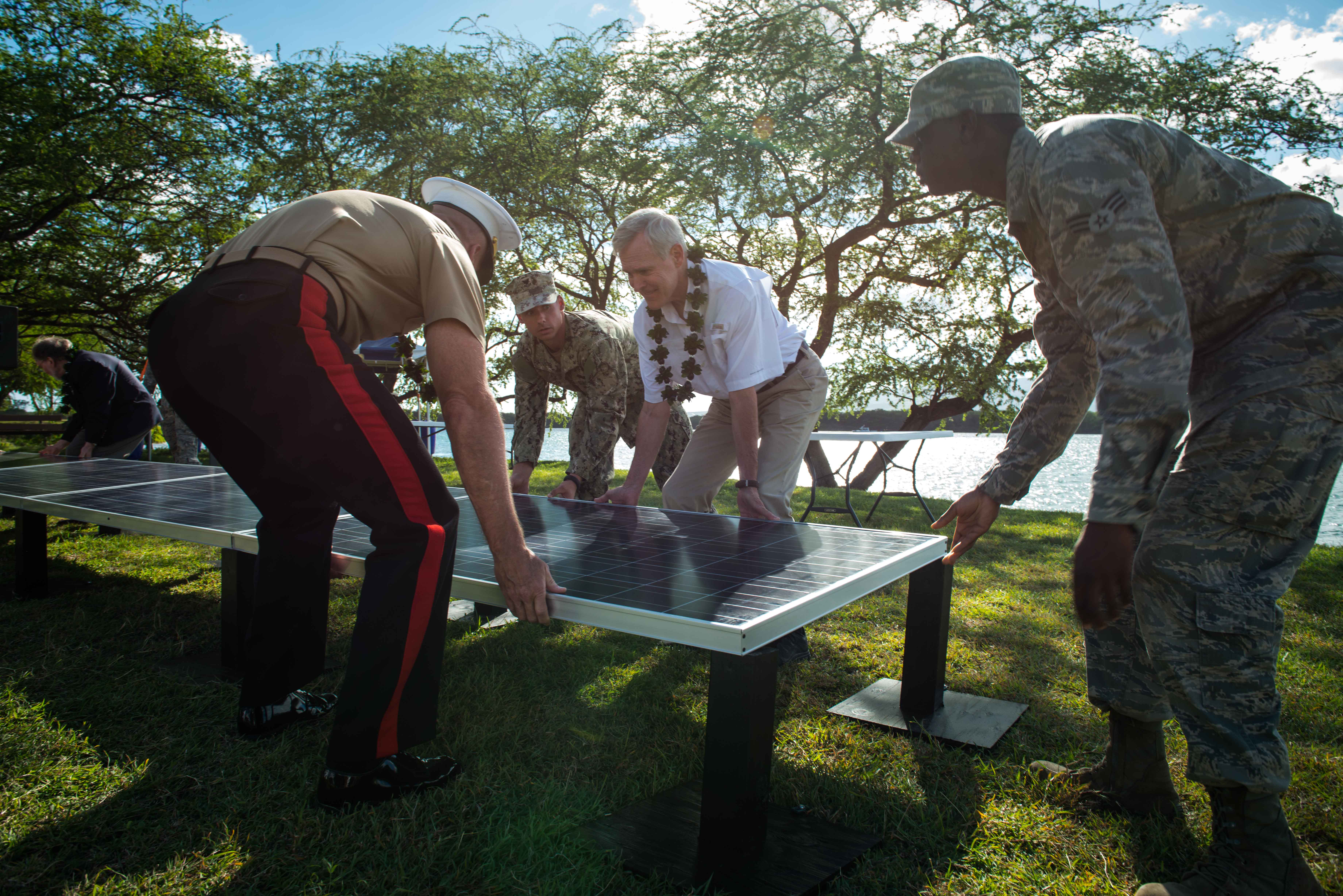 Navy Announces Solar Project