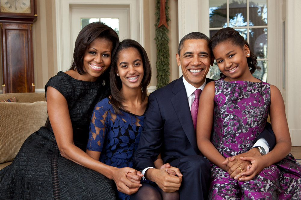 Official Obama Family Portrait 2011