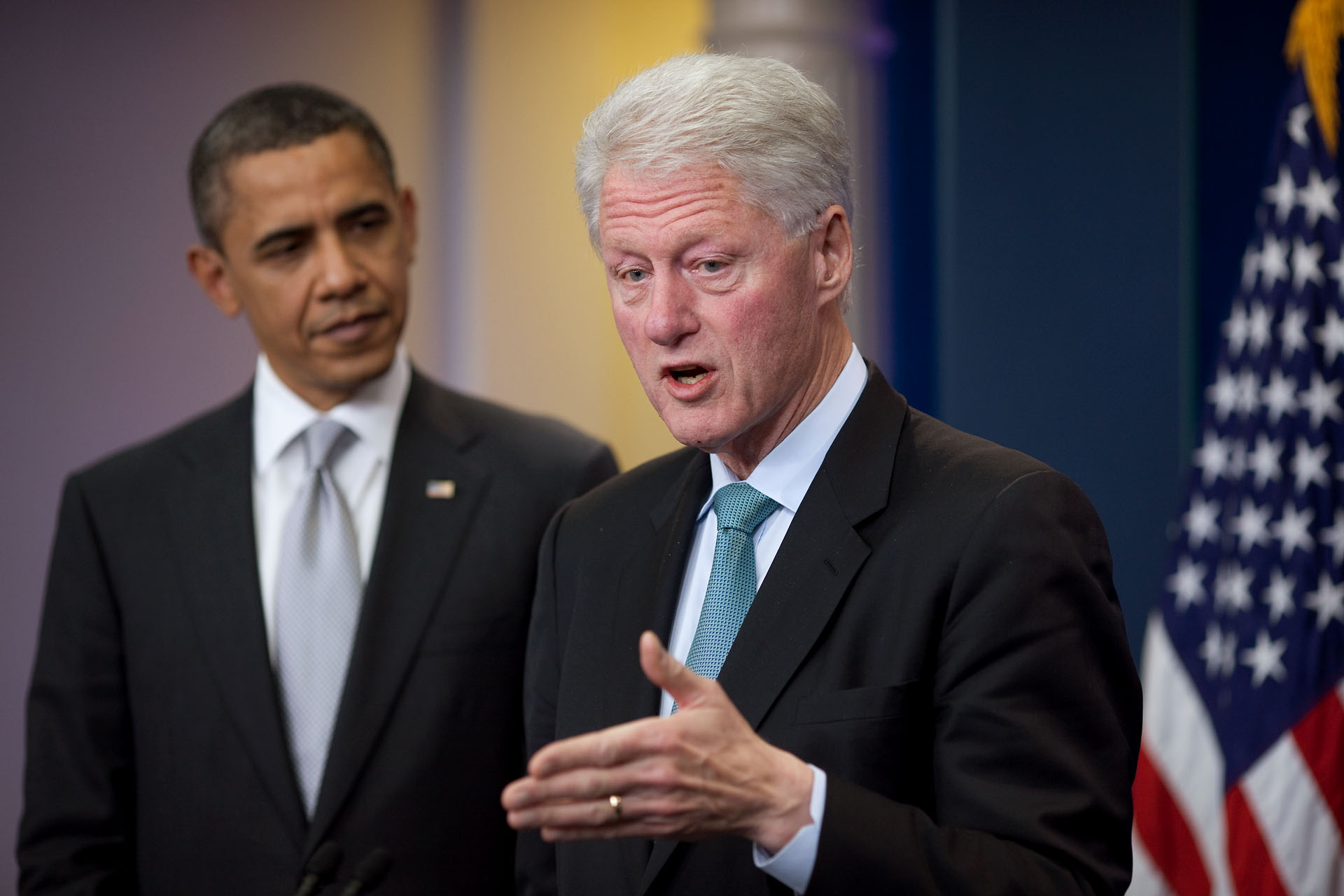 President Obama & President Clinton Discuss Tax Cuts, Unemployment Insurance & Jobs