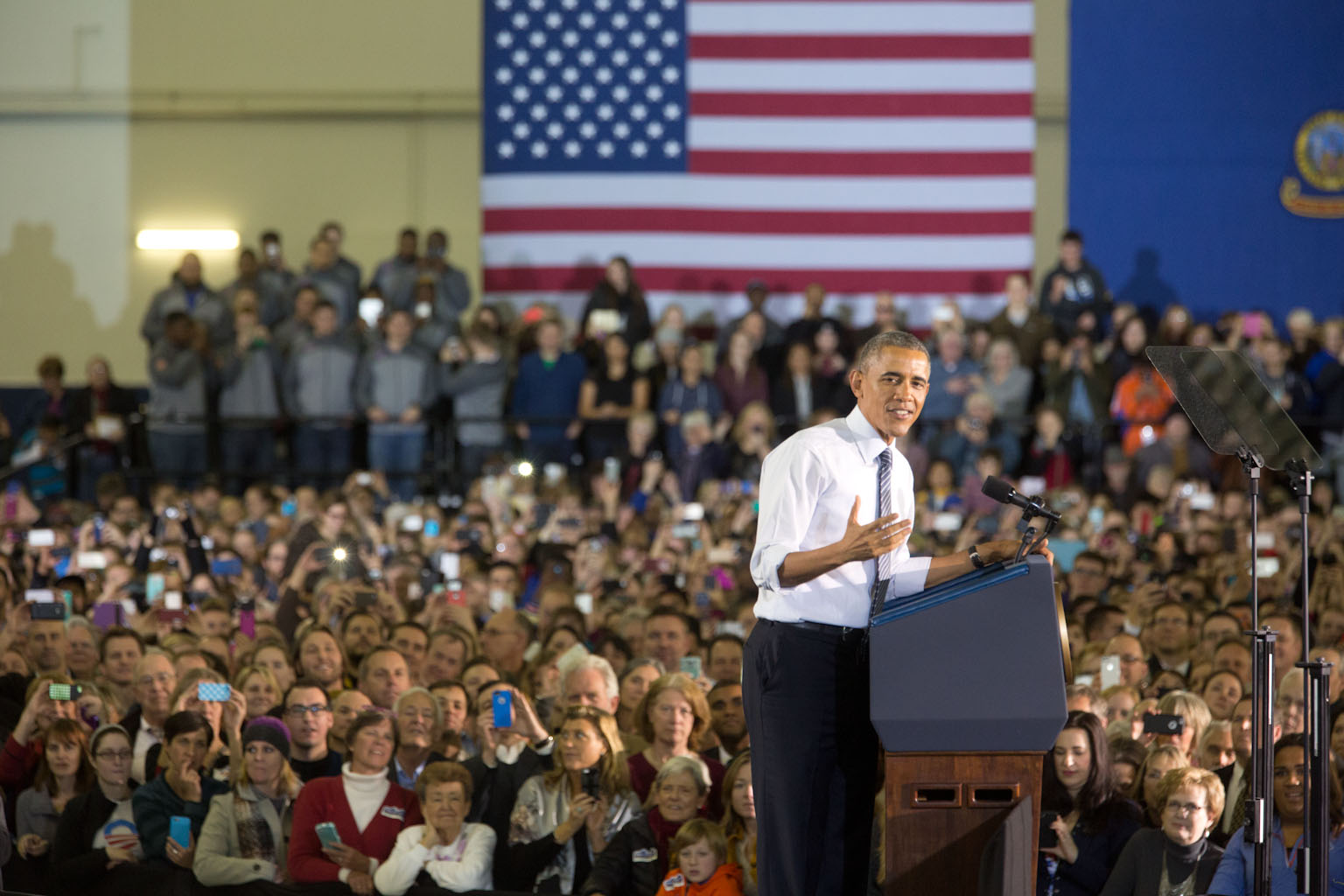 President Obama delivers remarks at Boise State University
