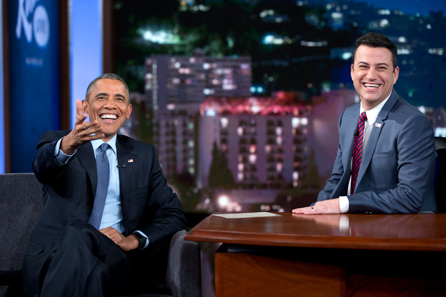 President Obama on Jimmy Kimmel Live