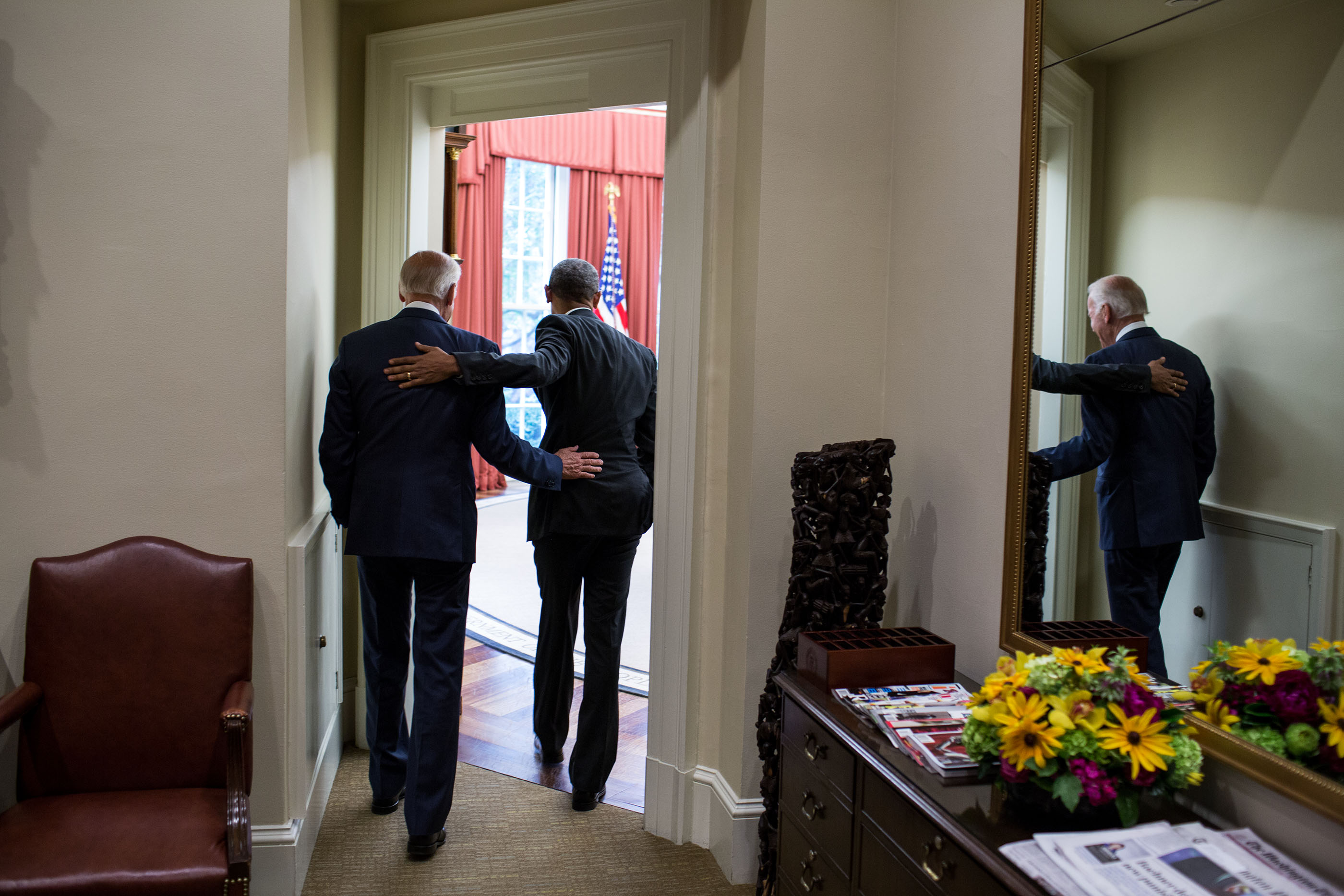 President and Vice President Walk Out After Affordable Care Act Decision