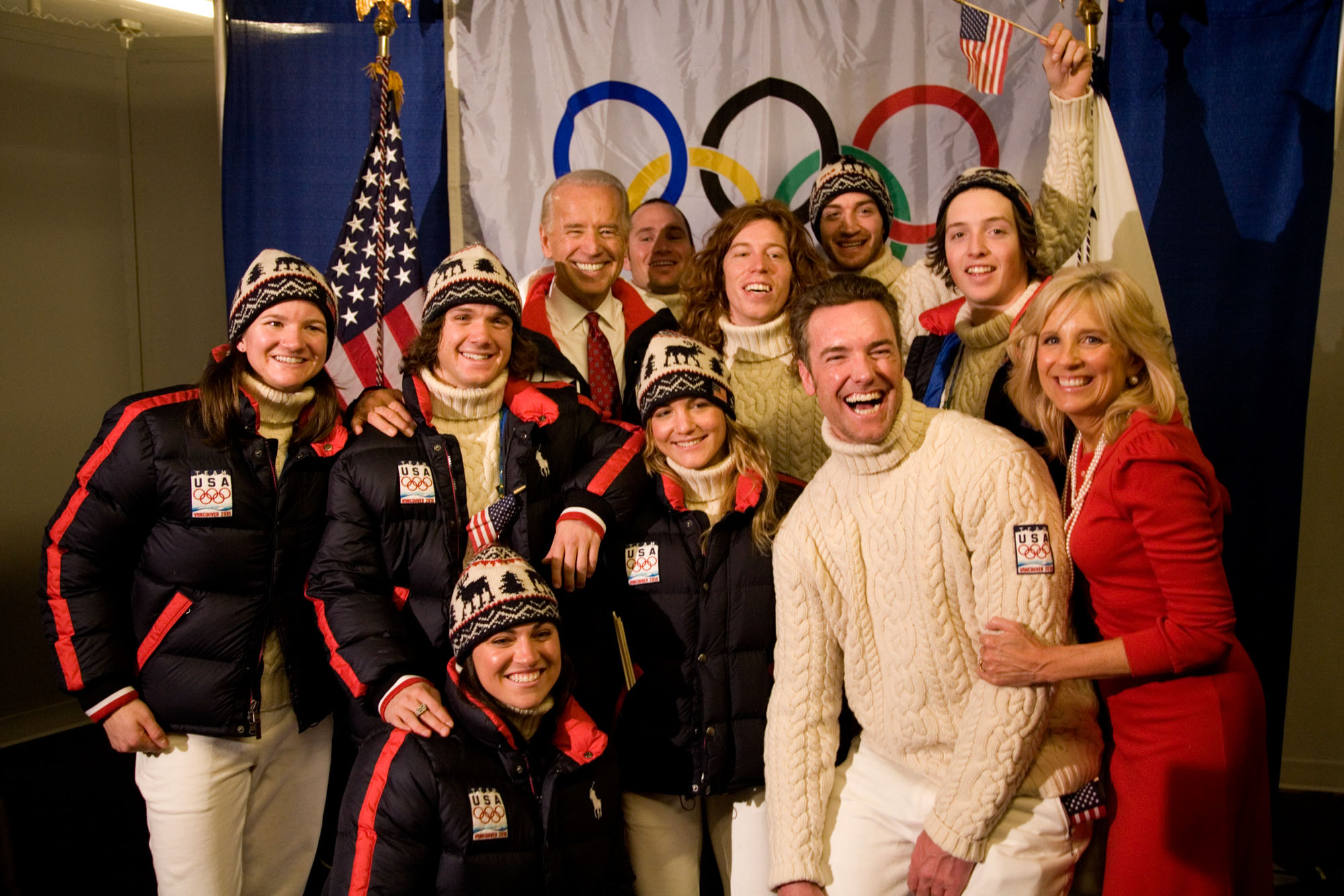 Vice President Biden and Olympic Athletes