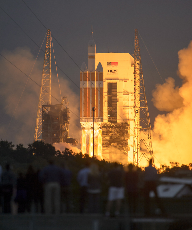 Orion Launches on First Steps to Mars