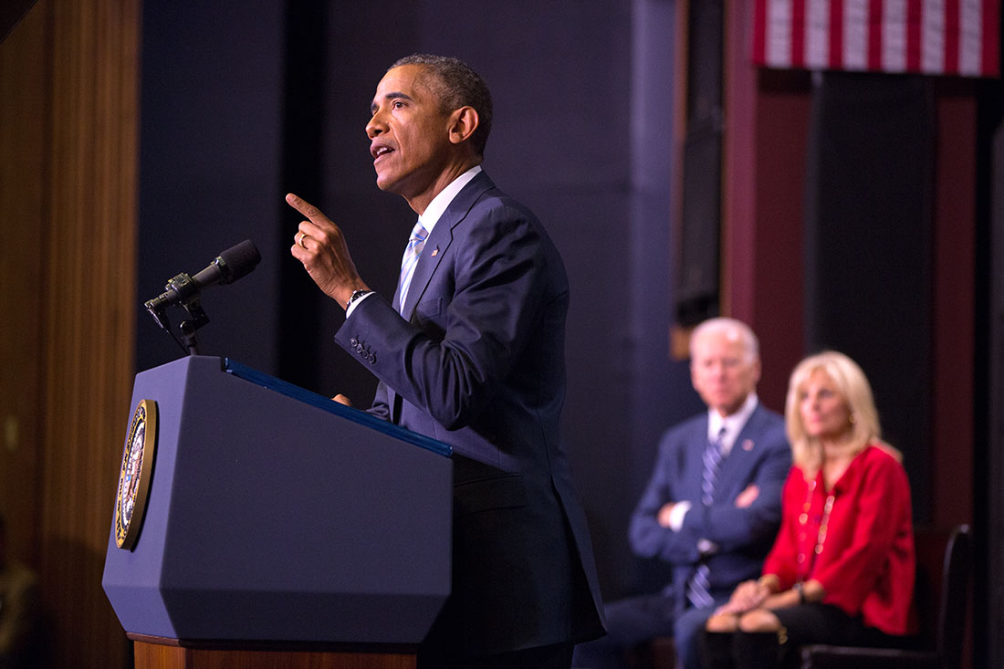 President Obama delivers remarks on college affordability at Pellissippi State Community College