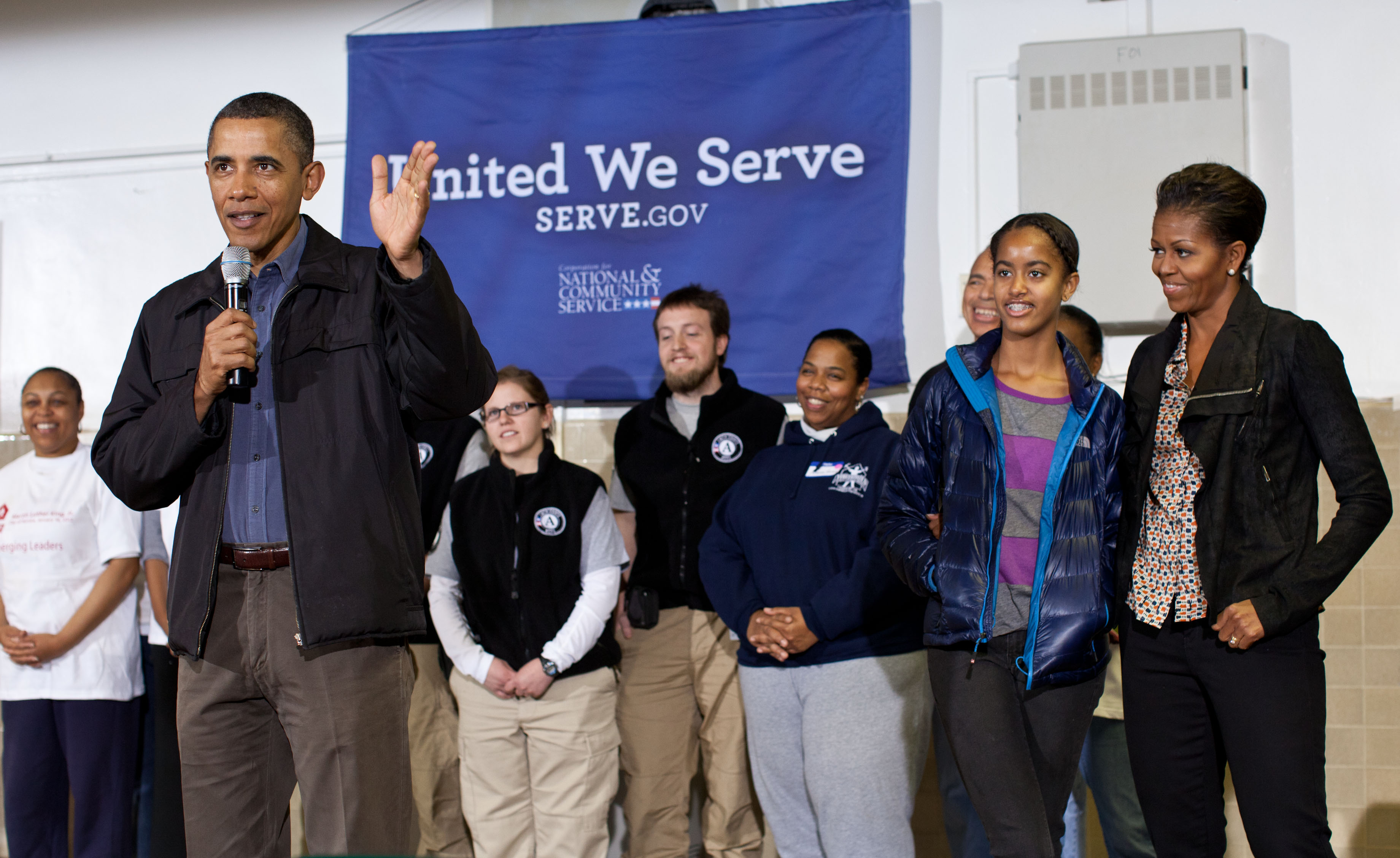 President Obama at Browne