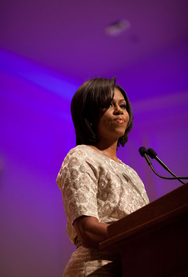 First Lady delivers remarks at National Mentoring Summit