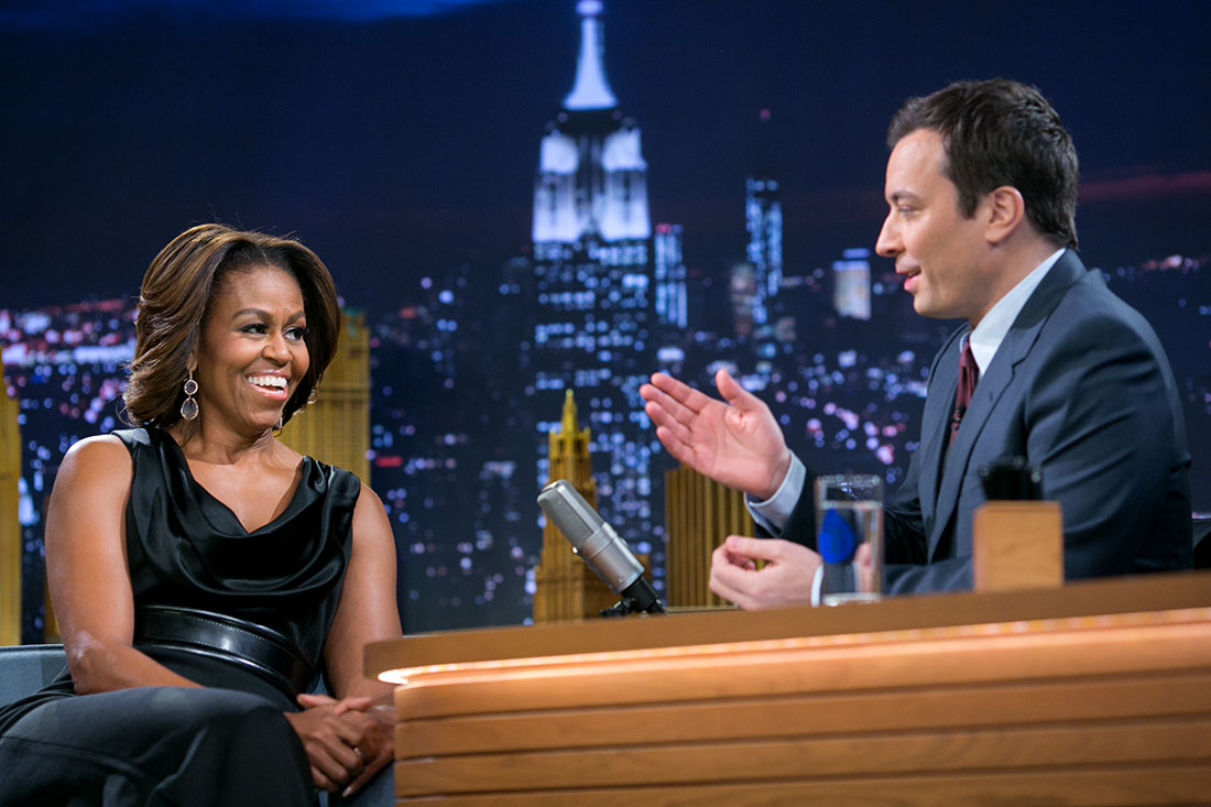 First Lady Michelle Obama Joins Jimmy Fallon