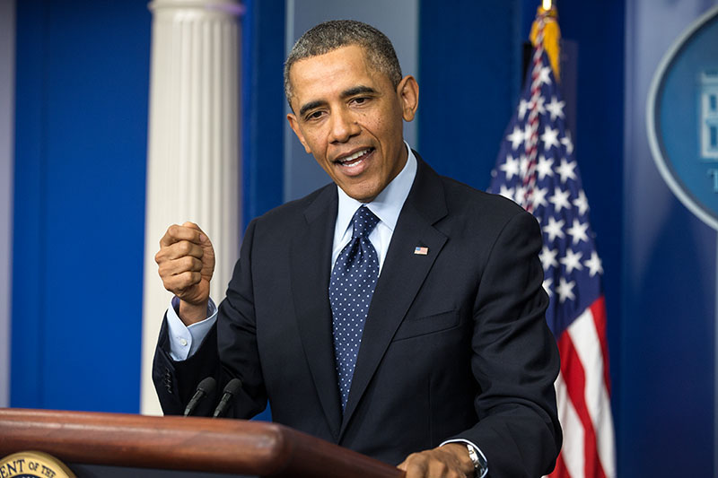 President Obama Gives Press Conference on the Sequester, March 1, 2013