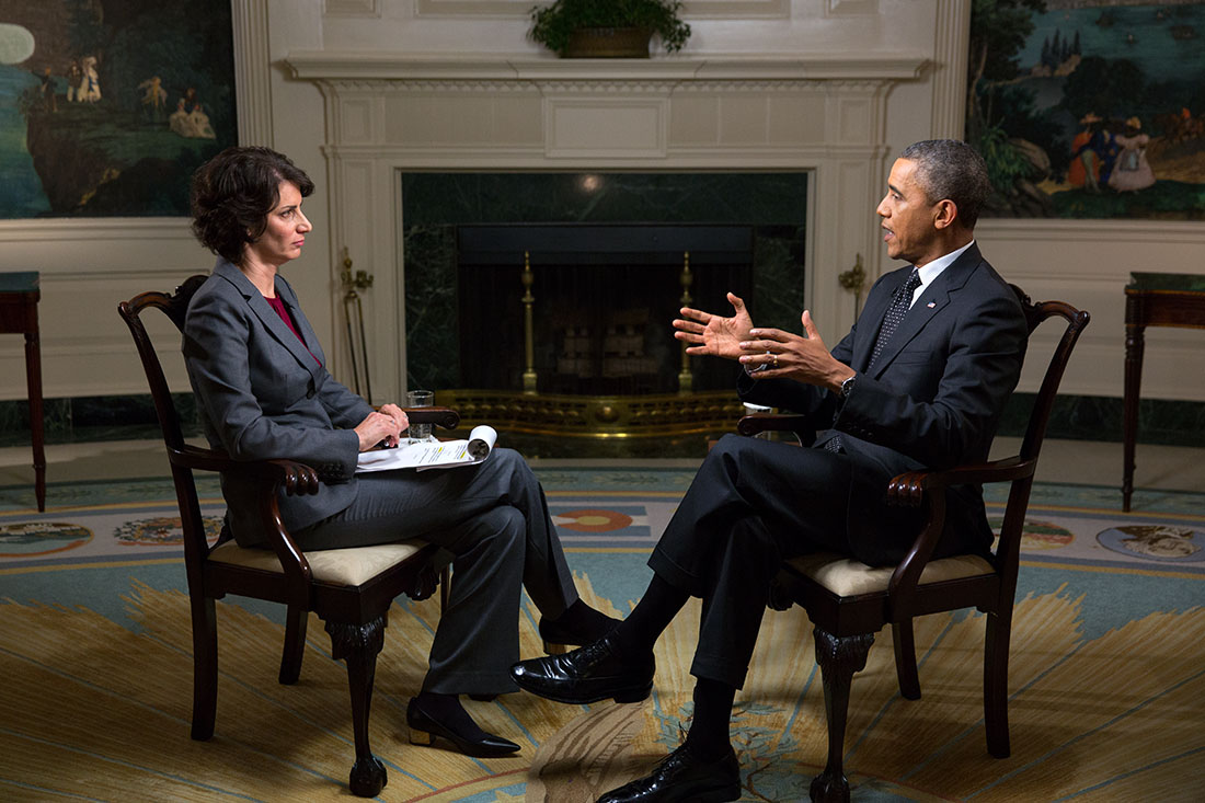 President Obama Participates in an Affordable Care Act interview with WebMD
