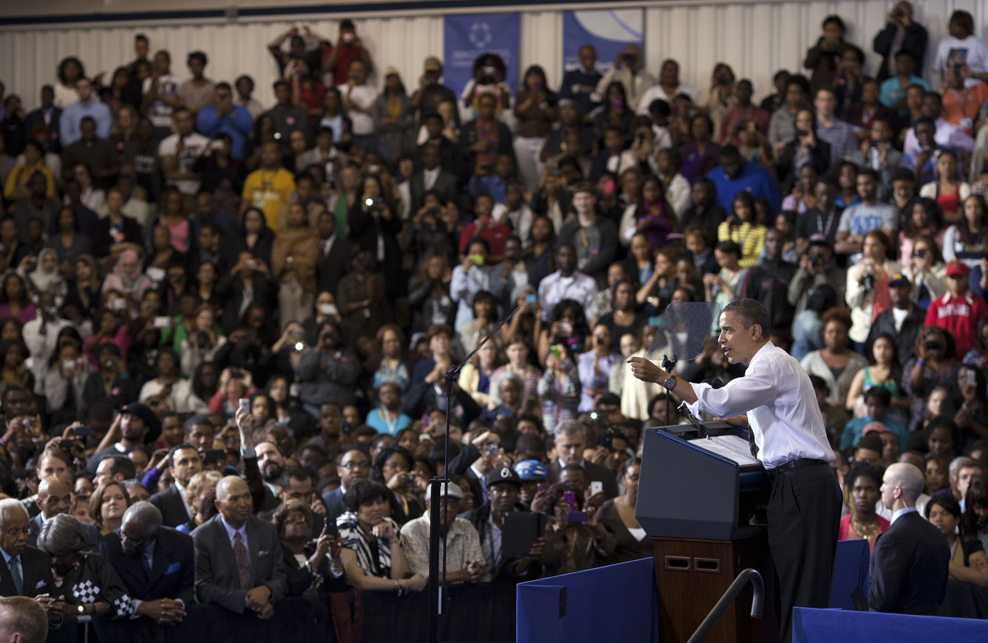 President Obama Speaks at Prince George's Community College