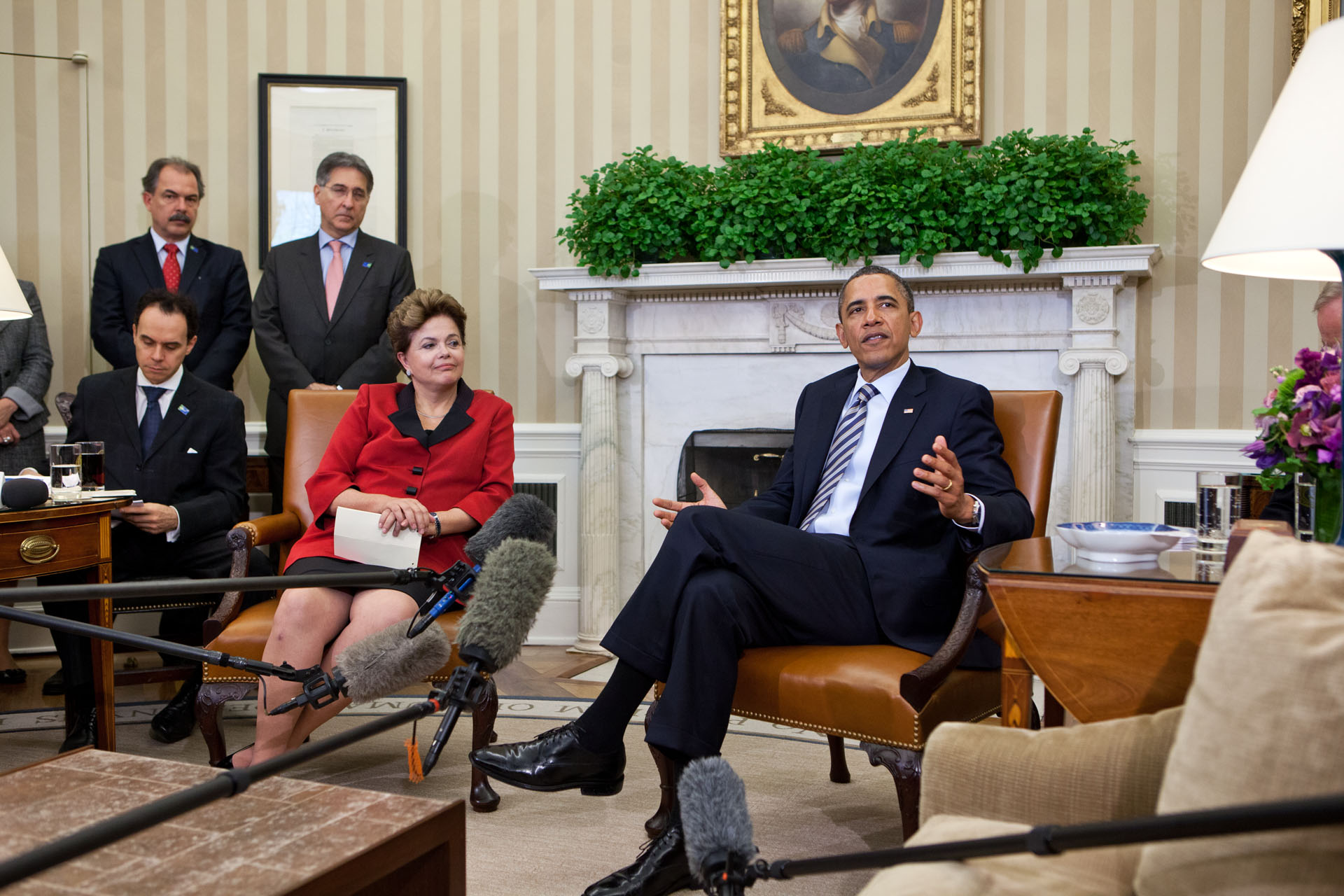 President Obama and President Rousseff Deliver a Statement
