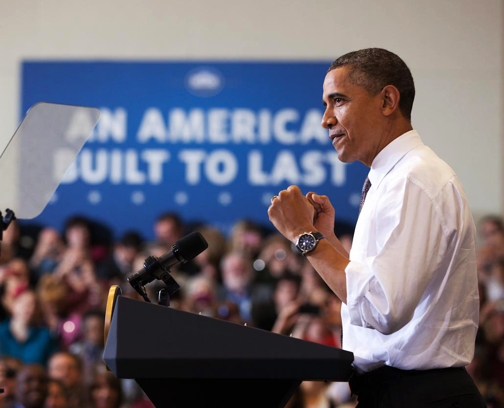 President Barack Obama Delivers Remarks Highlighting the Administration's Job Training Initiatives