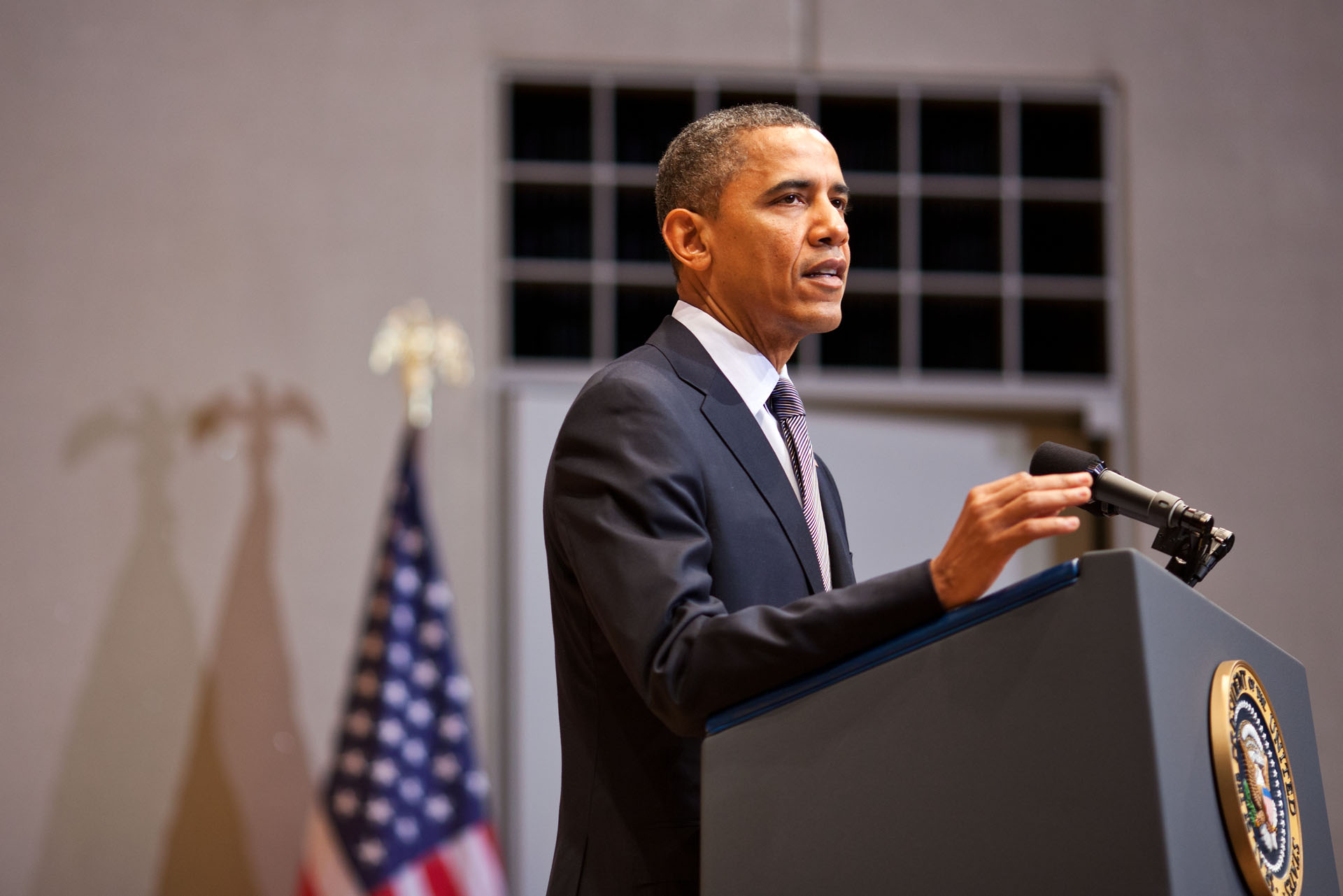 President Barack Obama Delivers Remarks at the U.S. Holocaust Memorial Museum