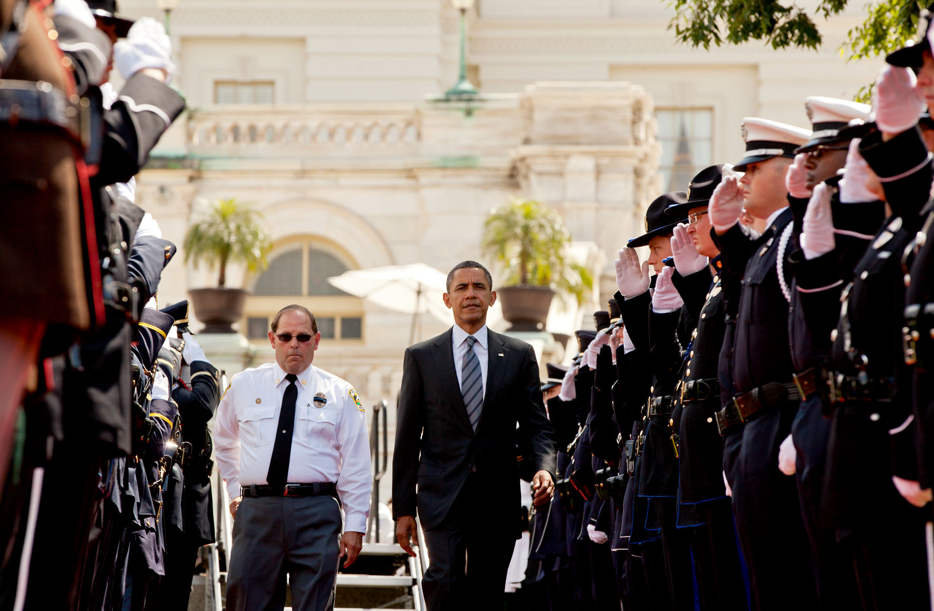 President Barack Obama at the National Peace Officers Memorial Service