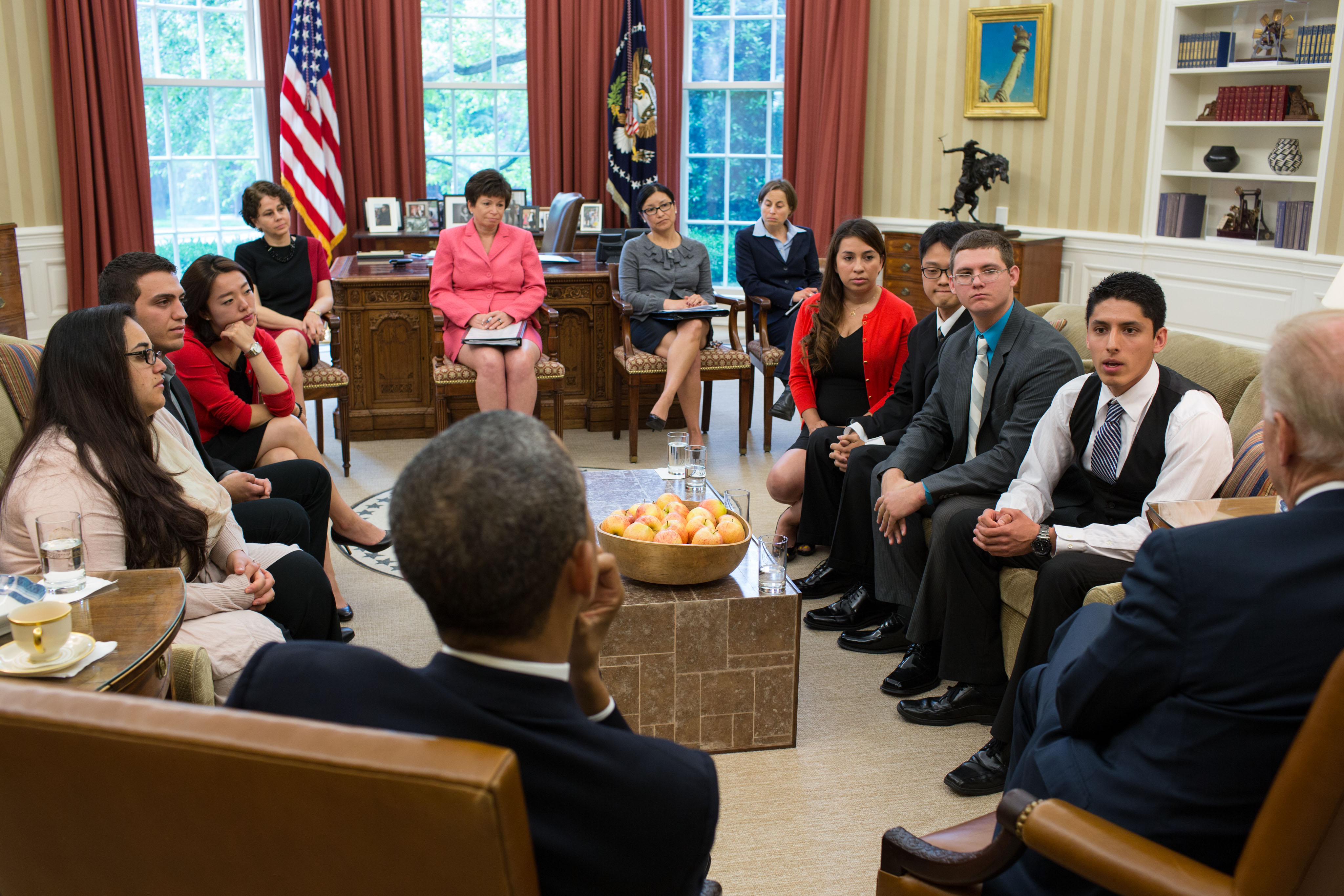 Image result for photos dreamers with president