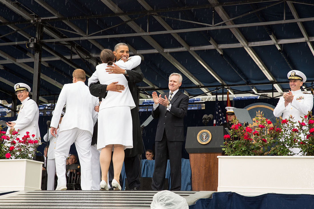 president obama delivers the commencement address at the u s naval