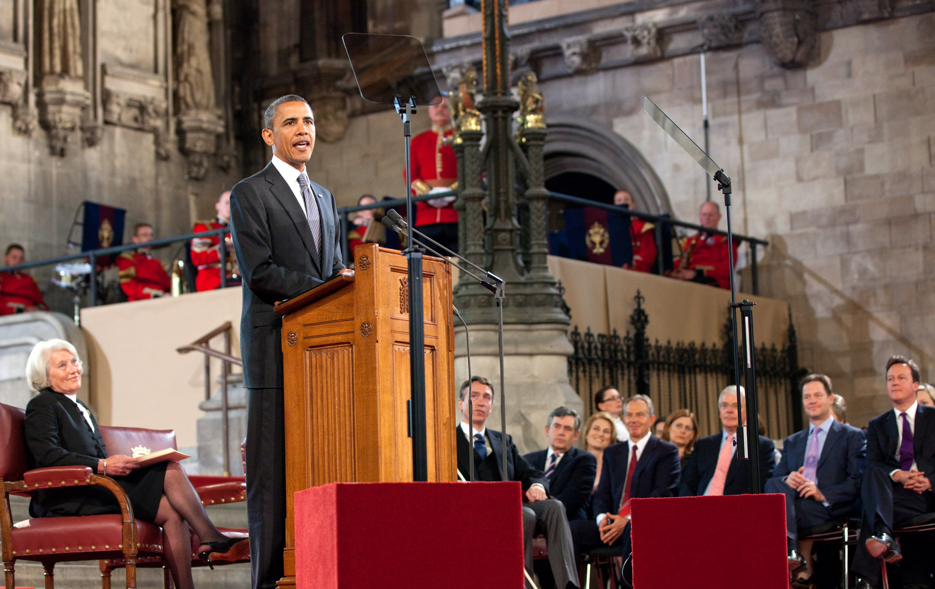 President Obama Speaks to UK Parliament 2