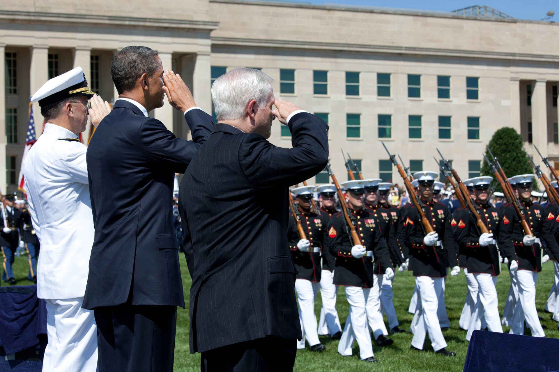 Farewell Tribute in Honor of Secretary Gates at the Pentagon