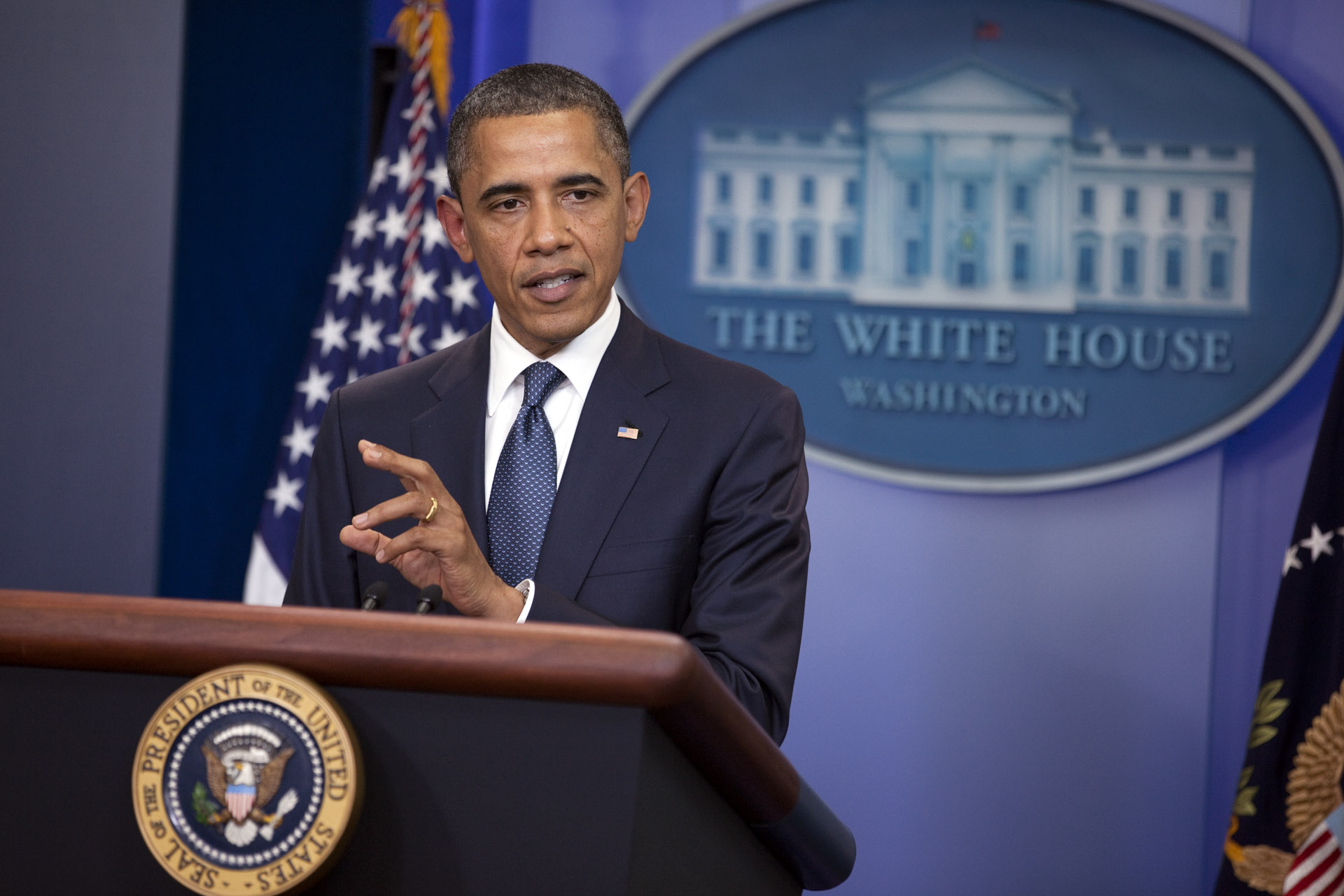 President Barack Obama on Efforts to Find a Balanced Approach to Deficit Reduction