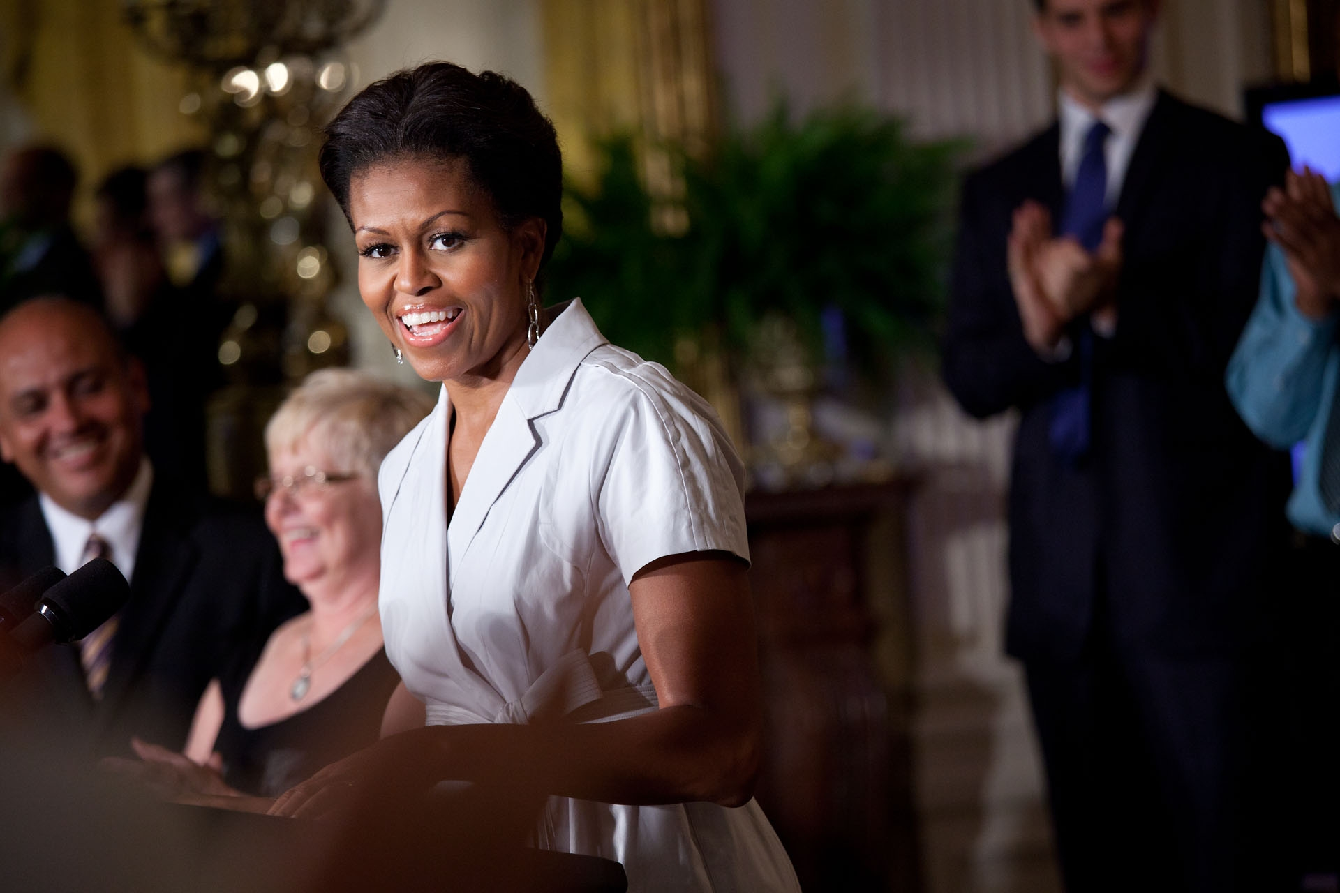 First Lady Michelle Obama Announces Commitments to Provide Access to Healthy, Affordable Food