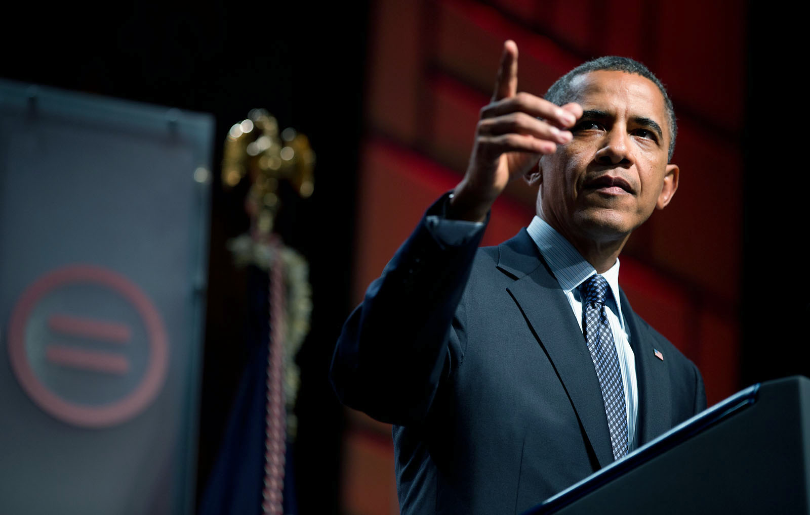 President Barack Obama delivers remarks at the Urban League Convention